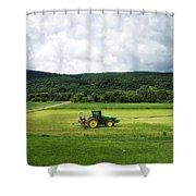 Farming New York State Before The July Storm 03 Shower Curtain