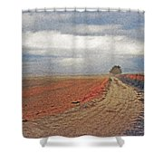 Farmland 3 Shower Curtain