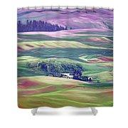 Farmland Colors - No. 1 Shower Curtain