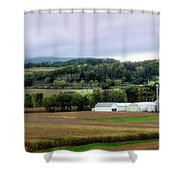 Farmland In Pennsylvania Shower Curtain