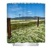 Farmland Scenery Shower Curtain