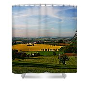 Farmland View Shower Curtain