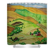 Farmville Shower Curtain