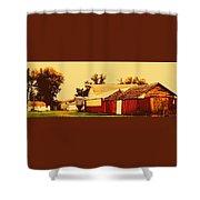 Farmyard Shower Curtain