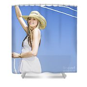 Farmyard Life Shower Curtain