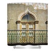 Faro Balcony Shower Curtain