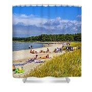 Faro Beach Shower Curtain