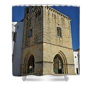 Faro Main Church Bells Tower Shower Curtain