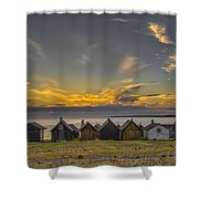 Faroe, Gotland, Sweden Shower Curtain