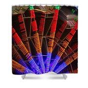 Farris Wheel In Motion Shower Curtain
