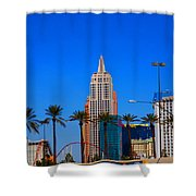 Fascination Las Vegas Shower Curtain
