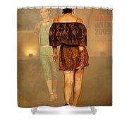 Fashion Catwalk Shower Curtain