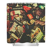 Fashion Designers Desk  Shower Curtain