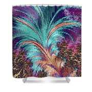 Feather Abstract Shower Curtain