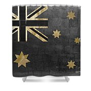 Fashion Flag Australia Shower Curtain