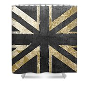 Fashion Flag United Kingdom Shower Curtain