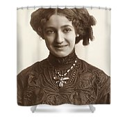 Fashion: Hairstyle, C1900 Shower Curtain