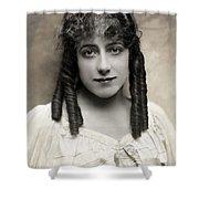 Fashion: Hairstyle, C1910 Shower Curtain