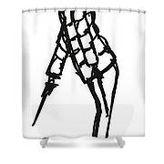 Fashion Sketch Shower Curtain