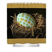 Fashionable Egg  Shower Curtain