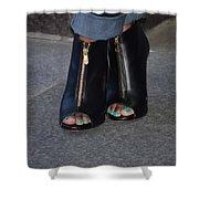 Fashionable Feet Shower Curtain