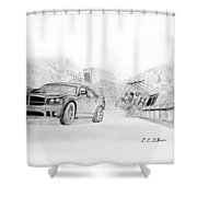 Fast 5 Shower Curtain