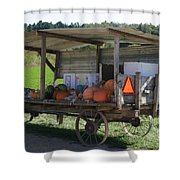 Fast Food Shower Curtain by Bjorn Sjogren