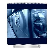 Fast Track  Shower Curtain