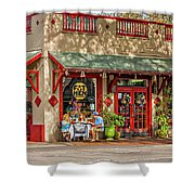 Fat Hen Grocery - New Orleans Shower Curtain