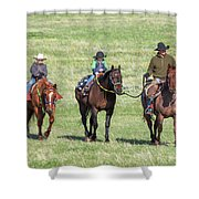 Father And Sons Shower Curtain