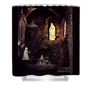 Father Bakers Refuge Shower Curtain