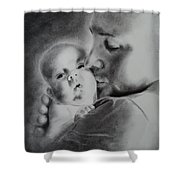 Father N Son Shower Curtain