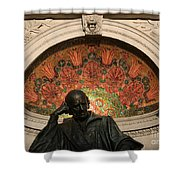 Father Of Homeopathy Shower Curtain