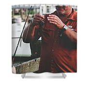 Father Son Time Shower Curtain