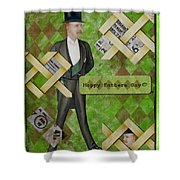 Fathers Day Shower Curtain