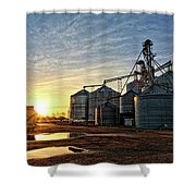 Faulkner Elevator Shower Curtain