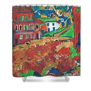 Fauvism Shower Curtain