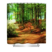Favorite Path Shower Curtain