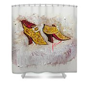 Favorite Shoes Shower Curtain