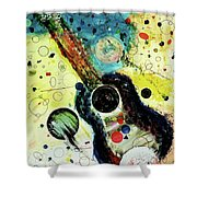 Favorites Shower Curtain by Michael Lucarelli