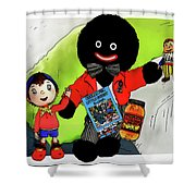 Favourite Childhood Memories Shower Curtain