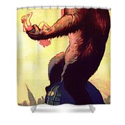Fay Wray In King Kong 1933 Shower Curtain