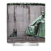 Fdr Memorial - Neither New Nor Order Shower Curtain