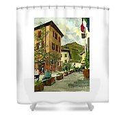 Fdr Piazza Regello Shower Curtain
