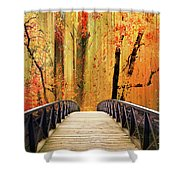 Forest Fantasia Shower Curtain