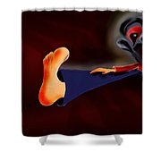 Fear Dream Shower Curtain