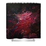 Fear Series, Iv Shower Curtain by Daniel Hannih