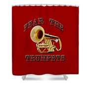 Fear The Trumpets. Shower Curtain
