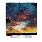 Fearless Awakened Shower Curtain by Jason Coward
