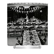 Feast Shower Curtain